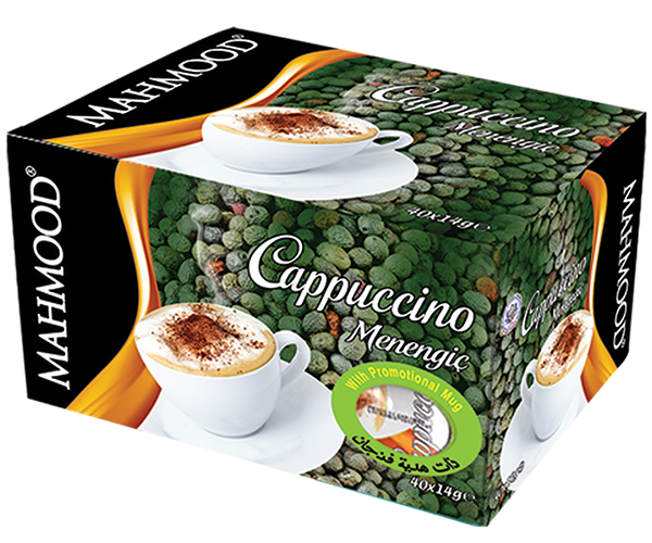 Turpentine Flavored Cappuccino Mug Cup Gift Box of 40